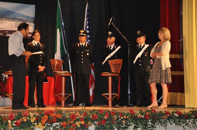Il premio alla memoria di Pietro Loretelli consegnato alla figlia Rosamaria