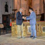 1 DSC_8237 - Albert Santoni premiato dal sindaco di Sassoferrato Ugo Pesciarelli
