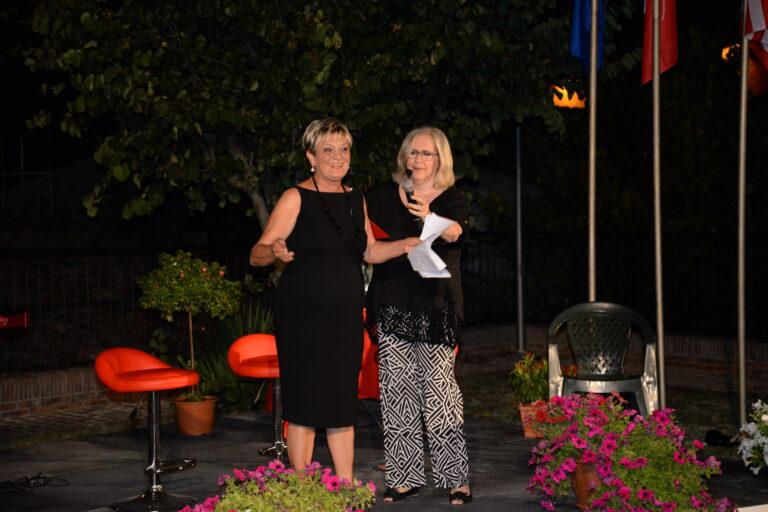 La presidente Mara Silvestrini porge il benvenuto agli intervenuti